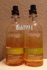 Bath Body Works Energy Aromatherapy Lemon Zest Mist spray perfume fragrance