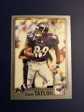 2001 Topps #151 TRAVIS TAYLOR Baltimore Ravens WR Awesome Card Look !