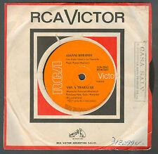 "GIANNI MORANDI VADO A LAVORARE / VOY A TRABAJAR RARE ARGENTINA  7"" RCA VICTOR"