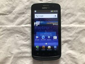Coolpad Quattro 4G - 512MB Smartphone - Black - (MetroPCS) - *READ* - CLEAN ESN