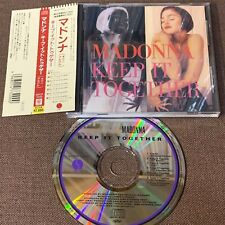 MADONNA Keep It Together JAPAN 7-track CD WPCP-3200 w/ OBI+ PS BOOKLET Free S&H
