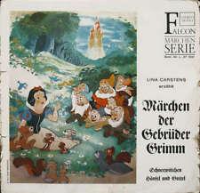 Lina Carstens Erzählt Märchen Der Gebrüder Grimm Vinyl Schallplatte - 175578