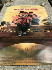 Better Off Dead Movie Reprint 27X40 Poster Cusack