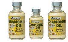 3 UNITS Chamomile Oil Pharmar / Aceite de Manzanilla 2 FO