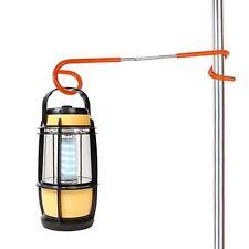 2-way Lantern Light Lamp Night Hanger Tent Pole Post Hook Outdoor Hiking Aid B