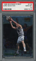 Dirk Nowitzki 1998 Bowman's Best Basketball Rookie Card #109 PSA 10 GEM MINT