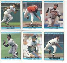 1992 Donruss Baltimore Orioles Team Set