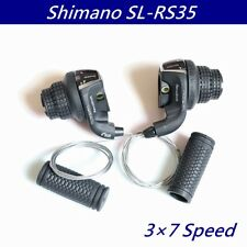 1 pairs Shimano Tourney SL-RS35 Revo Shift Lever Bike Bicycle Speed Shifter