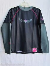 TROY LEE DESIGNS TLD motocross MOTO GIRLS jersey blk/pnk SMALL (womens ?)