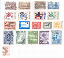 ARGENTINA  Album page of Mint/Used Stamps (M603)