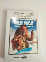 DVD  Ice age edad de hielo edición de lujo, 2dvd Disney