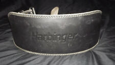 Harbinger Leather Weight Lifting Belt Size Large Foam Core Padded Competition