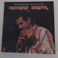 """33T Gheorghe ZAMFIR Disque LP 12"""" EXTRAORDINAIRE FLUTE DE PAIN Vol.2 - DEESSE 19"""