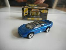 Matchbox Premiere Collection Jaguar XJ220 in Blue in Box