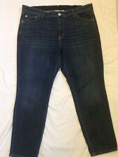 Evri Jeans Skinny 20WS 20W Short Dark Wash Skinny Leg Stretch