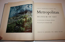 1959 Great Paintings from The Metropolitan Museum of Art 60 Colourplates Europe