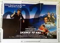 "James Bond limited Edition 9 card trading card set - 1989 Movie ""License to Kill"