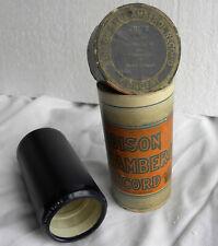 4-Min-Cylinder-Phonograph-Record-Edison Blue Amberol-VIOLINCELLO PAULO GRUPPE