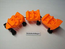 KNEX Screamin Serpent ROLLER COASTER CARS Parts/Pieces Screaming Lot
