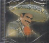 NEW - Vincente Fernandez CD Historia De Un Idolo Vol. 1 SHIPS NOW !