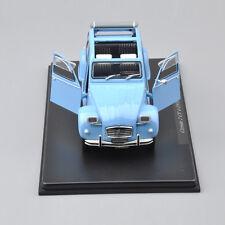 1/24 Scale LEO Models Citroen 2 CV 4(1976)Diecast Old Car Alloy Classic Model