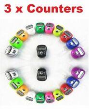 3X Finger Ring Electronic Digital Tasbeeh Tasbih Tally Counter Beads Islam Timer