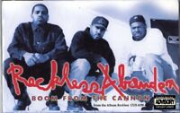 Reckless Abanden Boom From The Cannon Rap Hiphop Cassette Tape Single New Sealed