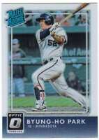 2016 Donruss Optic Rated Rookies RC Holo Refractor #46 Byung-ho Park Twins