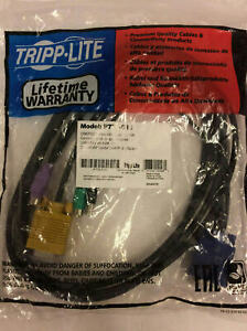 Tripp Lite KVM Switch Cables USB/PS2 VGA P778-010