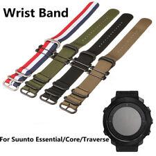 For Suunto Essential/Core/ Nylon Wrist Band Strap Bracelet Replacement