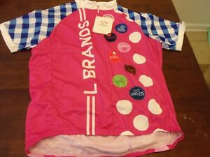 Primal NEW mens xl biking cycling jersey One goal PINK cancer event