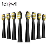 8x Replacement Electric Toothbrush Heads for Fairywill Sonic Electric Toothbrush
