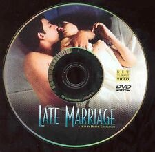 Late Marriage DVD Movie New Yorker Video Love Affair NO CASE
