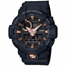 Casio G-Shock Men's GA-710B-1A4DR Black/Rose Gold Tone Watch