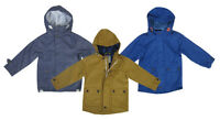 CHILDRENS TODDLER BOYS EX STORE HOODED DURABLE TOUGH JACKETS COAT