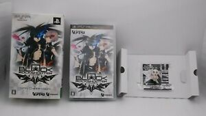 PSP GAME Software BLACK ROCK SHOOTER THE GAME WRS CHARM BOX Japan import