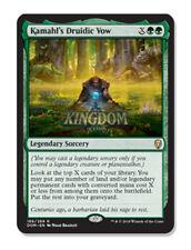 Kamahl's Druidic Vow - Dominaria - NM - English - MTG
