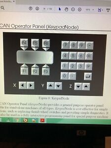 Baldor CAN Keypad KPD002-501 Refurbished New Outer Membrane and Switches