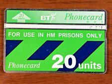 BRITISH TELECOM PHONECARD PRISON SERVICE EXCLUSIVE 90'S