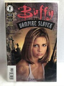Buffy The Vampire Slayer #1 Dark Horse Comics variant photo cover 1998 Key Issue