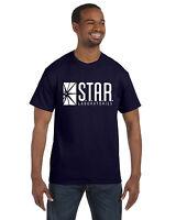 Star Labs Tee Shirt Tee The Flash STAR LABORATORIES Superman Comic Small-5XL
