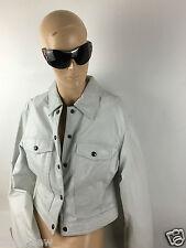 Danier Women's-Beige-Leather Hip Sport Jacket Size XS