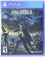 PLAYSTATION 4 PS4 VIDEO GAME FINAL FANTASY XV DAY ONE EDITION NEW AND SEALED