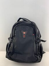 New Wenger by SwissGear Black Multi-Compartment Backpack