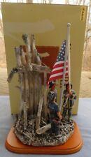 "Red Hats of Courage ""Spirit of America"" Fireman Vanmark 1st of Ltd Ed Mint inBox"