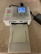 Sony Picture Station DPP-FP70 Thermal Color Photo Printer Portable Compact
