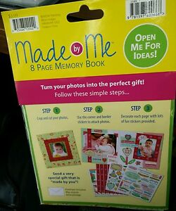 Made by Me memory book keepsake memories turn photos into the perfect gift 8 pgs