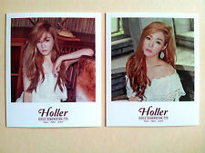 GIRLS' GENERATION SNSD TTS Holler POLAROID CARD - Tiffany B /Not Photo Card - SM