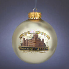"""My Other Home is "" Downtown Abbey Christmas Ornament By Kurt Adler-Holiday!"