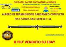ALBERO DI TRASMISSIONE CARDANICO COMPLETO FIAT PANDA 4X4 (169) 03 > 11